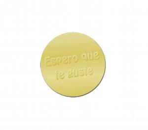 Etiqueta Oro PO732