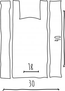 Bolsa Camiseta Blanca