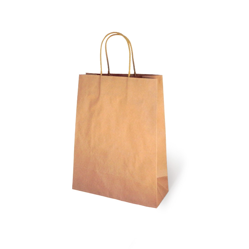 Precio pagable predominante varios diseños Bolsa de Papel Kraft Asa Algodón
