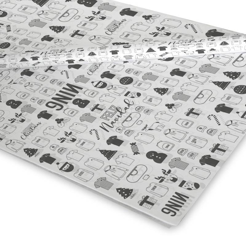 Papel de Seda Impreso